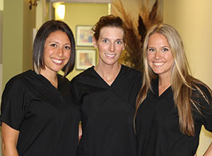 Our dental service team